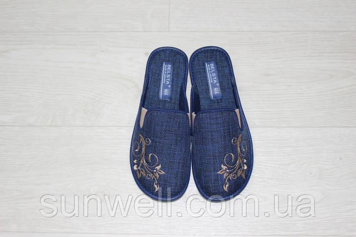 Жіночі тапочки Белста з закритим носком, р-р 36, фото 2