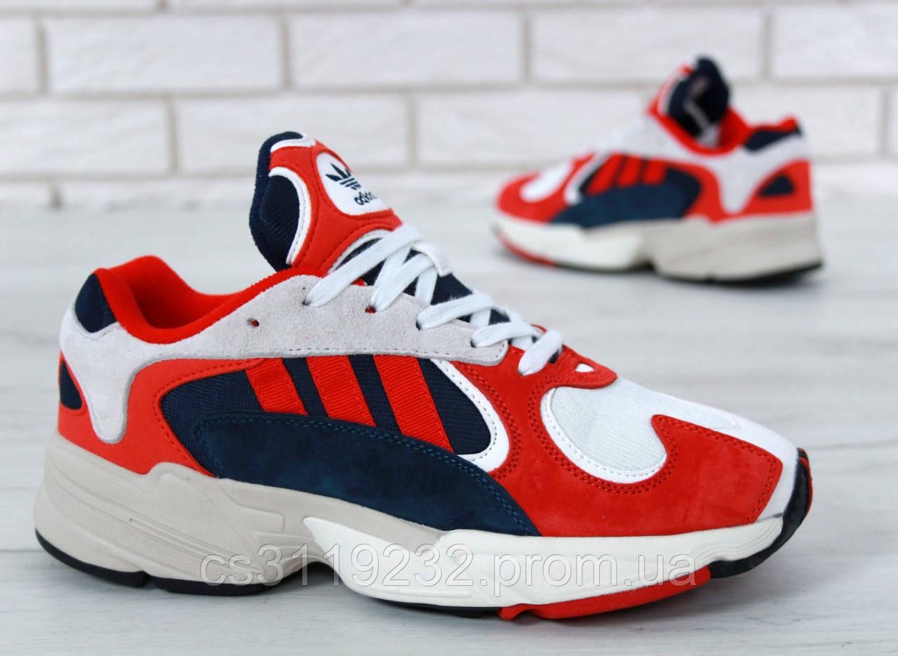 Мужские кроссовки Adidas Yung 1 Red (красные)