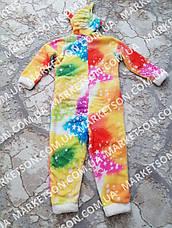 Кигуруми піжама Єдиноріг в зірочки р. XS-L, фото 3