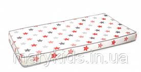 Матрас в детскую кроватку Twins 3D Stars 120x60 см Coral