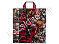 Пакет петля Deluxe 43x37 (цена за упаковку 50шт)