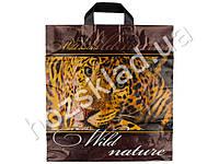 Пакет петля Wild nature 40x37 (цена за упаковку 50шт)