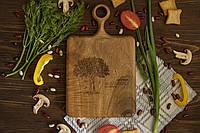 """Разделочная досточка """"Стандарт"""" из дерева ореха в подарок, фото 1"""