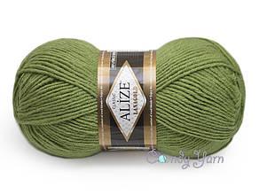 Alize Lana Gold, Зеленая черепаха №485