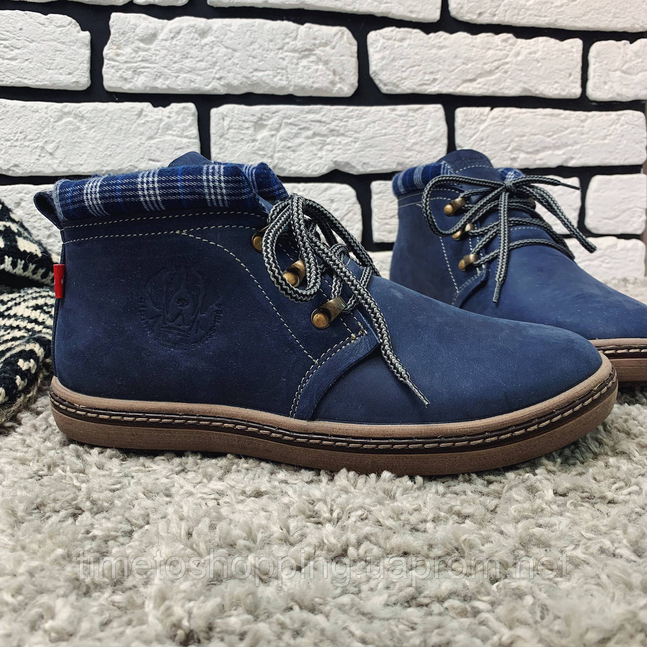 Зимние ботинки (на меху) мужские Switzerland 13030 ⏩ [ 41,42 ]
