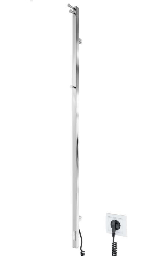Полотенцесушитель электрический Mario Рэй Кубо-I 1500x30 + таймер-регулятор