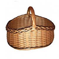 Плетена корзинка для дому з лози
