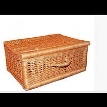 Плетеная корзина-короб Чемоданчик (30х20х15 см)