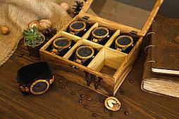 Іменна скринька для годинників і прикрас. Подарунок коханому хлопцеві чоловікові братові коханій дівчині, дружині, сестрі, подрузі
