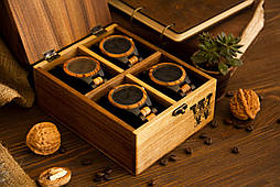 Іменна скринька для годинників і прикрас. Подарунок чоловікові хлопцеві колезі босові начальнику керівнику дружині дівчині