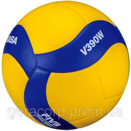 Мяч волейбольный Mikasa V390W, фото 2