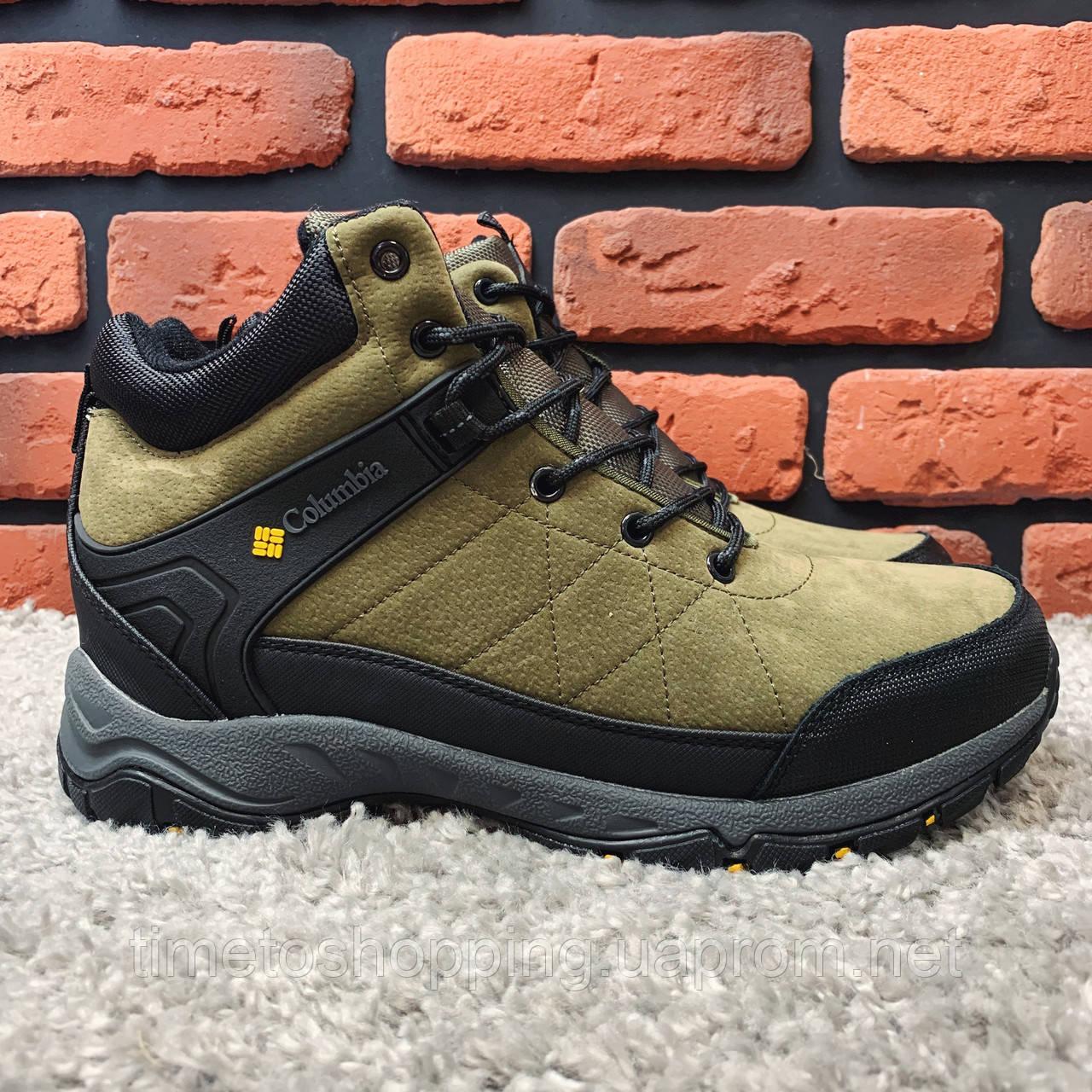 Зимние ботинки (на меху) мужские Columbia 12-136 ⏩ [ 41]