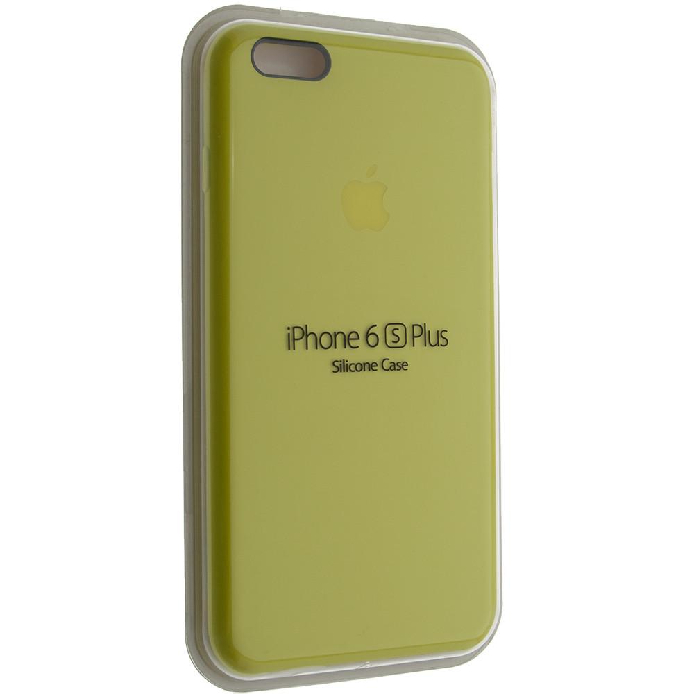 """Чехол Silicon iPhone 6 Plus - """"Лимонад №37"""""""