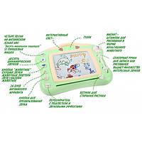 Магнитная доска для рисования Музыкальная с подсветкой D Jin Shang Lu Зеленая