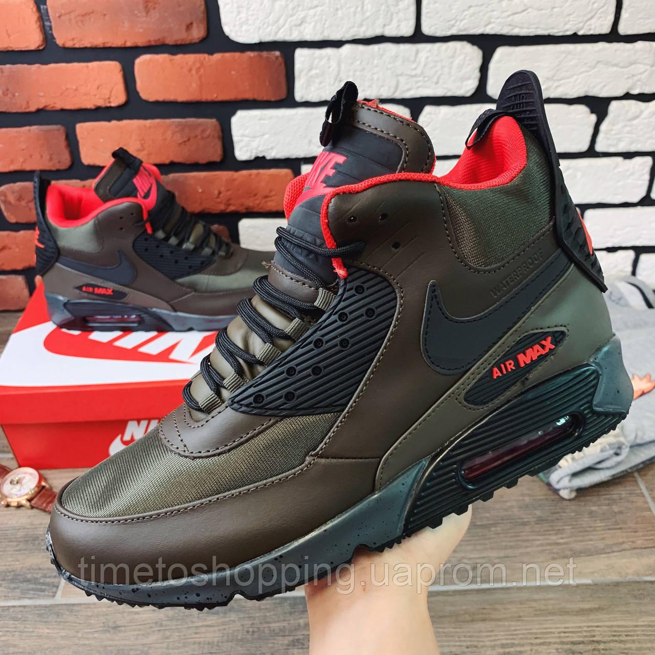 Термо-кроссовки мужские Nike Air Max  1182 ⏩ [ 41,42,43,44 ]