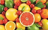 Журнальный стол прямоугольный Fruit стеклянный, фото 3