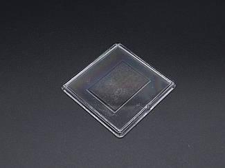 Акриловая заготовка с магнитом. 65х65мм Фото (58х58мм)