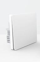 Настенный выключатель Aqara Wall Light Switch One Button Edition (одинарный, с нулевой линией, белый)