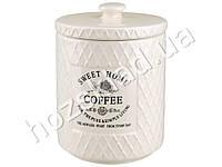 Банка для кофе Stenson Кантри 800мл 11,5х11,5х15,5см
