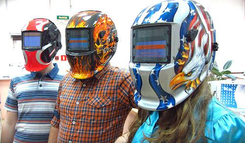 Сварочные маски-хамелеон