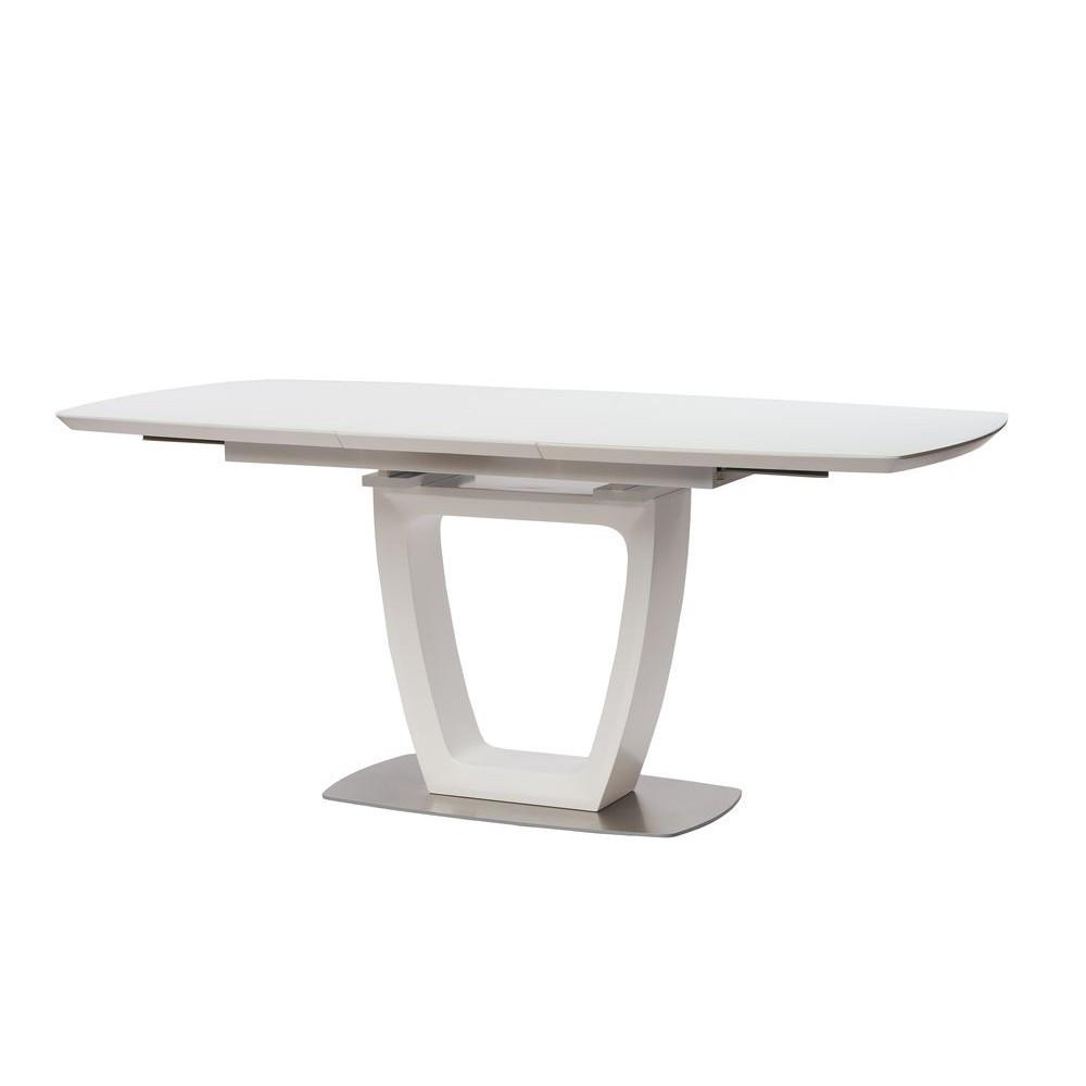 Обеденный стол RAVENNA (Равенна) матовый белый 120/160 от Concepto