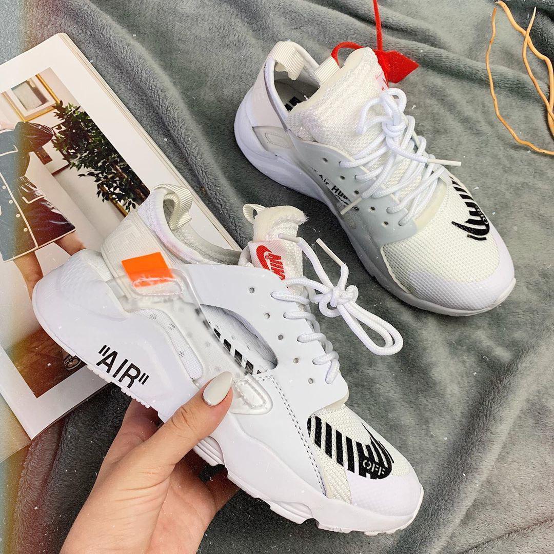 Кроссовки женские Nike Huarache x OFF-White  00025 ⏩ [ 36последняя пара] о