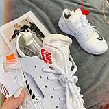 Кроссовки женские Nike Huarache x OFF-White  00025 ⏩ [ 36последняя пара] о, фото 5