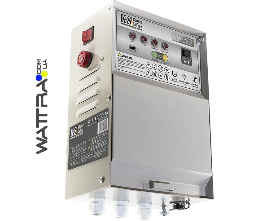 ⭐ Блок автоматики Konner & Sohnen KS ATS 4/32-12 для бензиновых генераторов