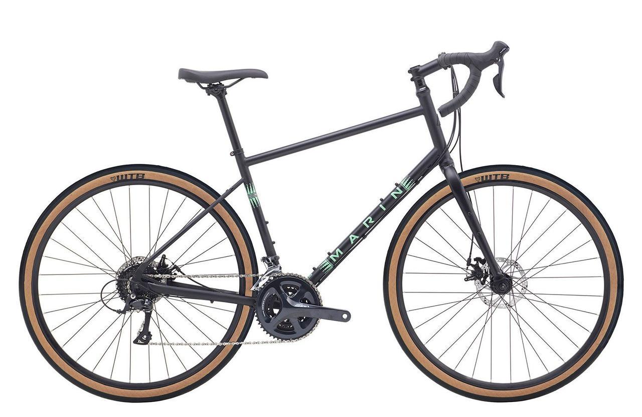 """Велосипед 28"""" Marin FOUR CORNERS 2020 Satin Black/Gloss Teal/Silver"""