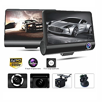 Видеорегистратор DVR 3CFHD 3 камеры с картой памяти 32Gb Full HD 1080P штатная установка задней камеры