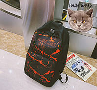 Школьный рюкзак с 3д принтом