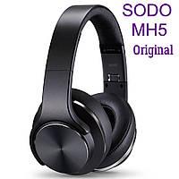 Беспроводные складные наушники SODO MH5 Black Original