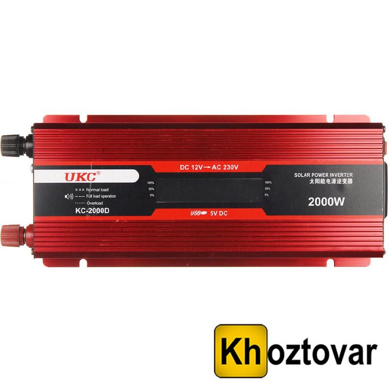 Преобразователь UKC 12V-220V 2000W