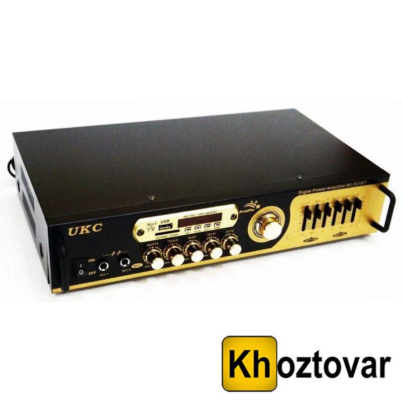 Усилитель звука AMP 121 BT UKC