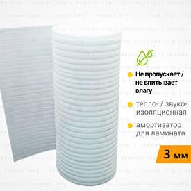 Вспененный полиэтилен, подложка под ламинат. Рулон 50 метров 3 мм
