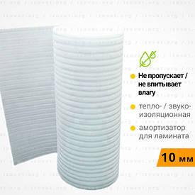 Вспененный полиэтилен, подложка под ламинат. Рулон 50 метров 10 мм
