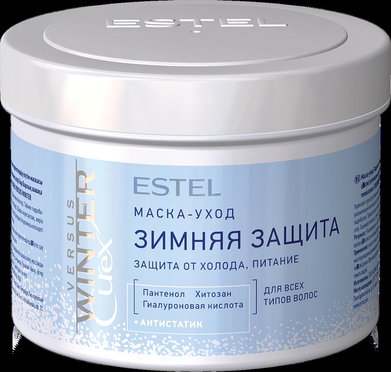 Маска CUREX VERSUS WINTER для волосс защита и питание, 500 мл