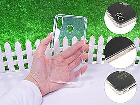 Ультратонкий 1мм силиконовый чехол для Samsung Galaxy M20 2019 M205