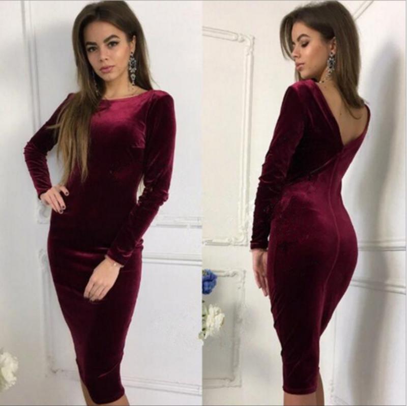 "Платье из бархата ""Prestige""| Новинка"