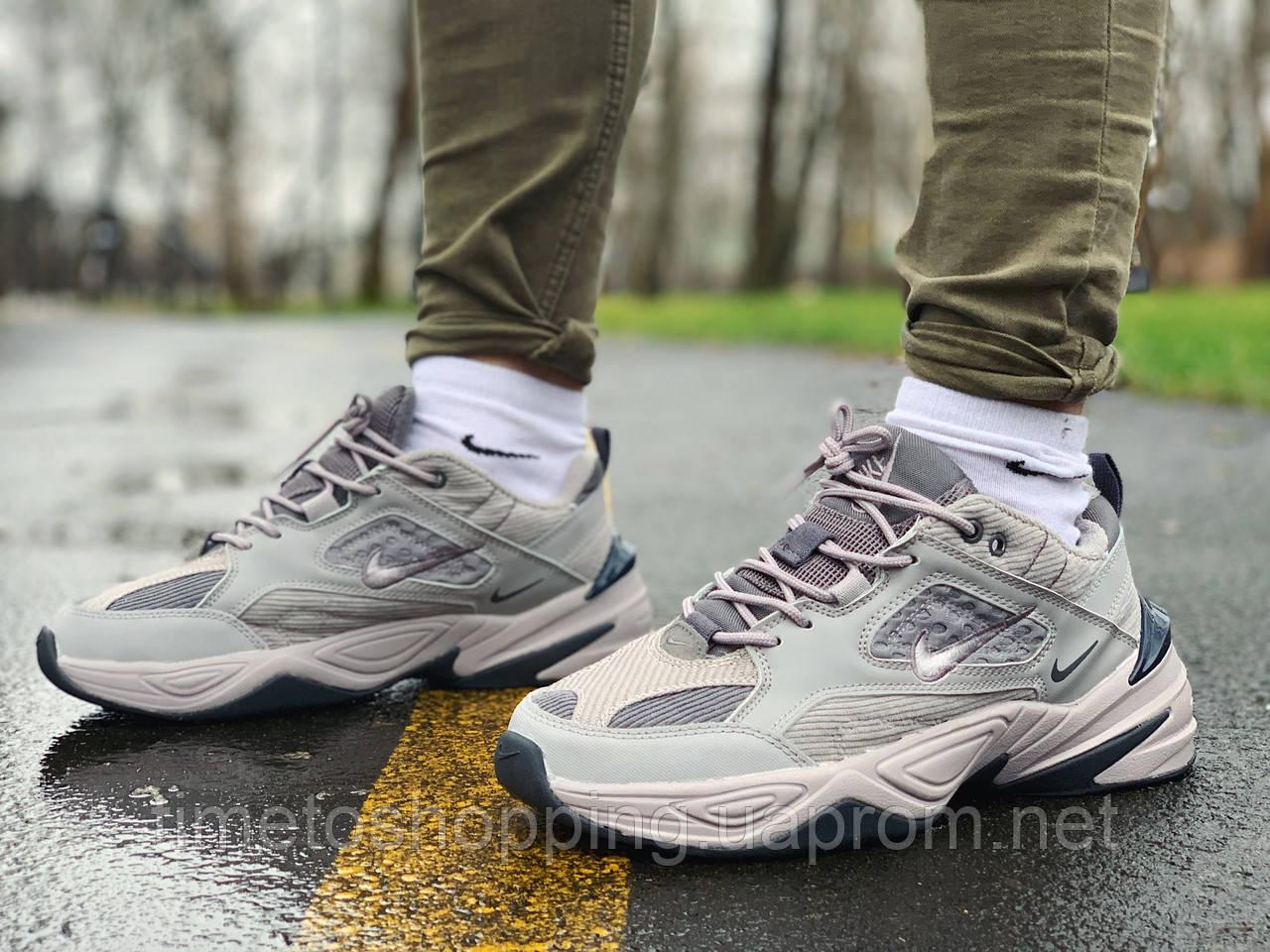 Кросівки чоловічі натуральна шкіра Nike M2K Tekno Найк М2К Текно РОЗМІР 45