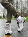 Кросівки чоловічі натуральна шкіра Nike M2K Tekno Найк М2К Текно РОЗМІР 45, фото 3