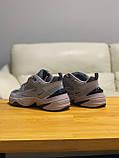 Кросівки чоловічі натуральна шкіра Nike M2K Tekno Найк М2К Текно РОЗМІР 45, фото 6