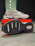 Кросівки чоловічі натуральна шкіра Nike M2K Tekno Найк М2К Текно РОЗМІР 45, фото 8