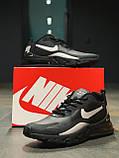 Кросівки чоловічі натуральна шкіра NIKE AIR MAX 270 Найк Аір Макс (РОЗМІР 41), фото 9