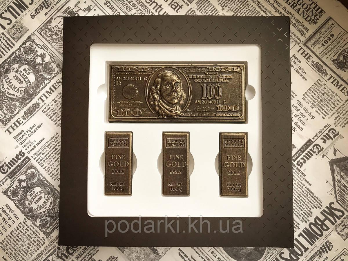 Брендированный шоколадный набор для финансовой фирмы