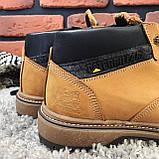 Зимние ботинки (на меху) мужские CAT 13041 ⏩ [ 41,42,43,44,45 ], фото 6