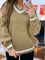 Тёплый, мягкий и супер стильный свитер, фото 1