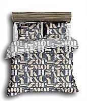 Постельное белье сатин 200х220 Комфорт Текстиль - Шрифт