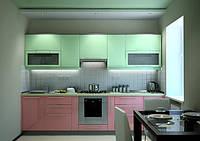 Кухонные гарнитуры с фасадами крашеного мдф