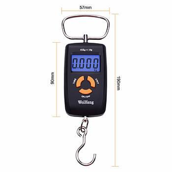 Електронні ручні безмен WeiHeng WH-A05 45 кг